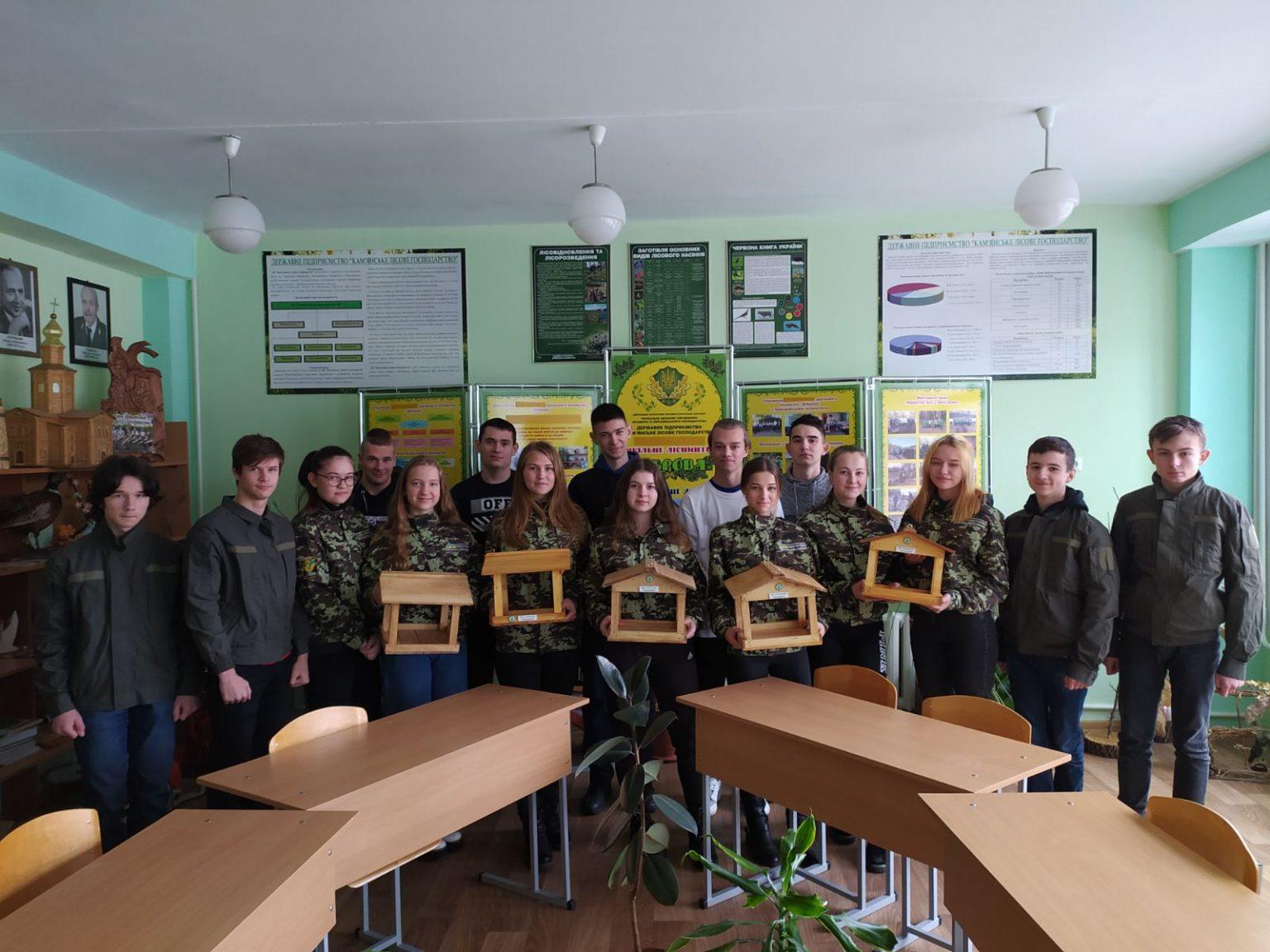 «Нагодуй птахів узимку»: на Черкащині дітлахи долучилися до загальнодержавної акції
