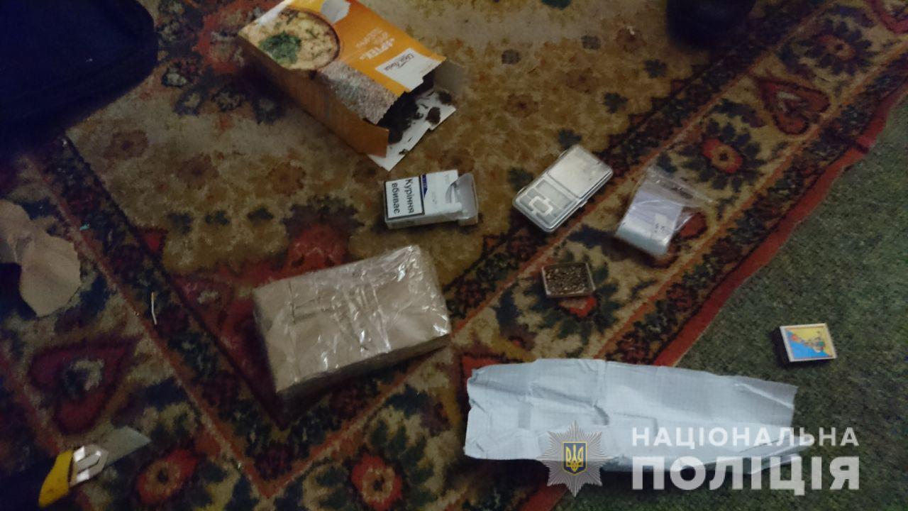 На Черкащині у чоловіка знайшли майже кілограм канабісу (ФОТО)