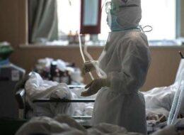 ковідне відділення у лікарні