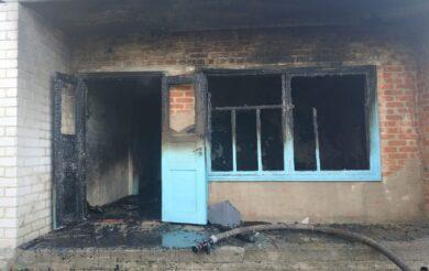 будівля вигоріла вщент