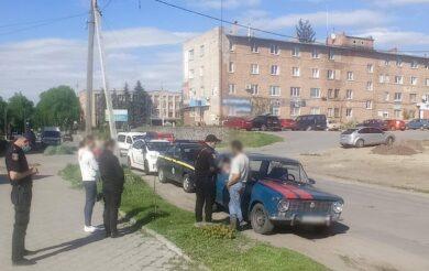 поліція зупинила водія