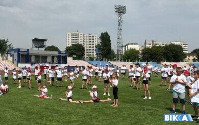 Черкащина відзначила Олімпійський день масштабною всеукраїнською руханкою (Фото)