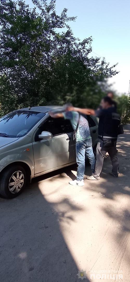 поліція затримала викрадача