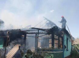 пожежники тушать вогонь