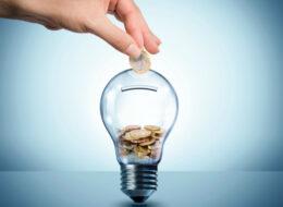 лампочка з грошима
