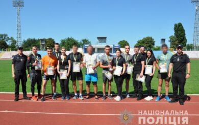 У Черкасах пройшов чемпіонат з легкої атлетики серед правоохоронців області (Фото)