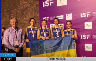 Черкаські баскетболістки – срібні призерки світових ігор (ВІДЕО)