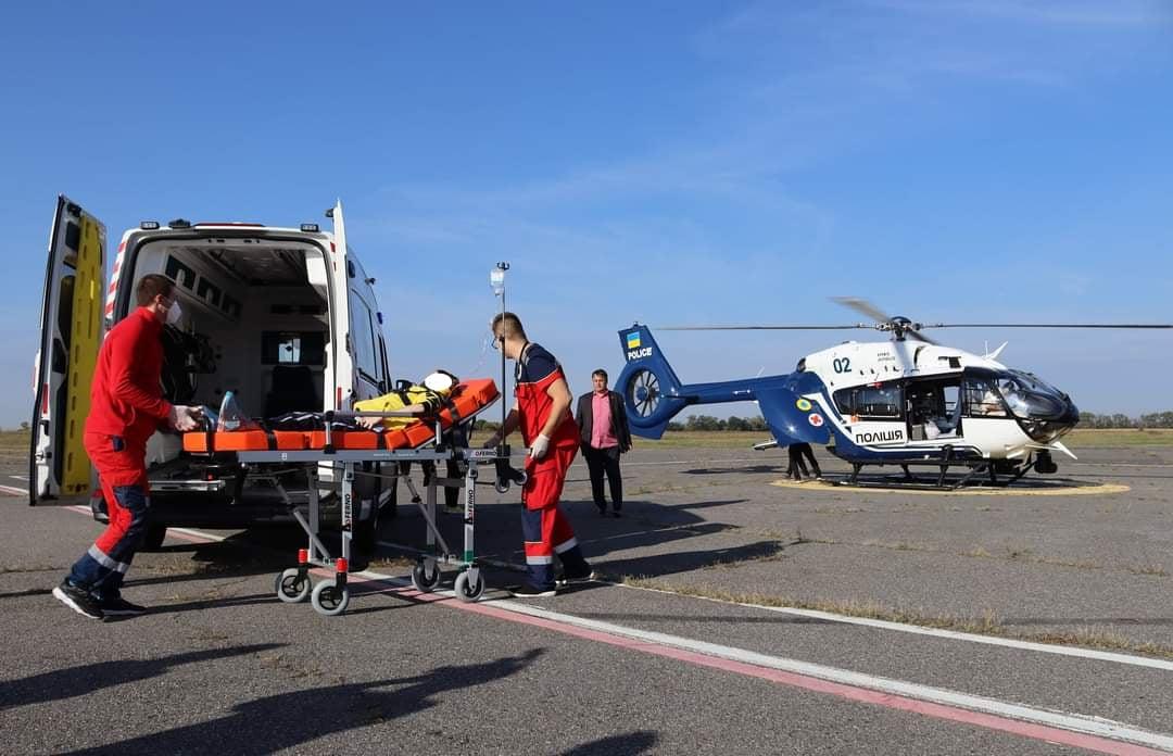 вертоліт швидка допомога