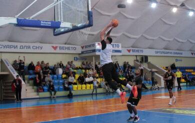 «Черкаські Мавпи» у контрольному матчі поступилися «Київ-Баскету»