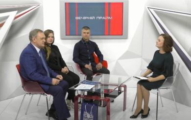 Вечірній прайм. Олександр Черевко зі студентами про сторічний ювілей ЧНУ (ВІДЕО)