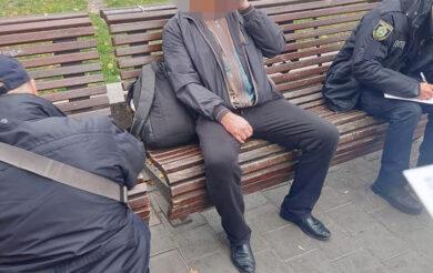У Черкасах патрульні заарештували чоловіка зі зброєю
