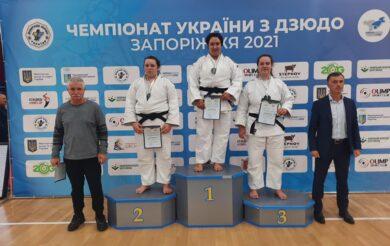 Черкаська дзюдоїстка стала чемпіонкою України