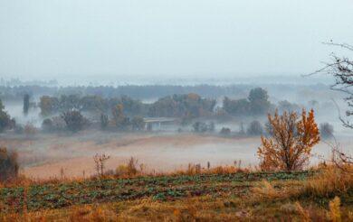 Шаєва гора в тумані